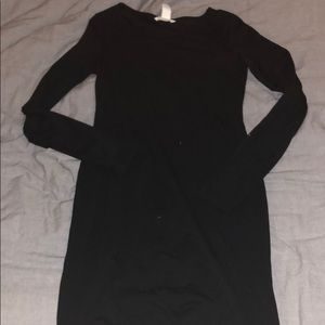 H&M Body Con long sleeve Mini dress